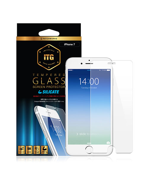ITGSilicate-Impossible Tempered Glass for iPhone7/8