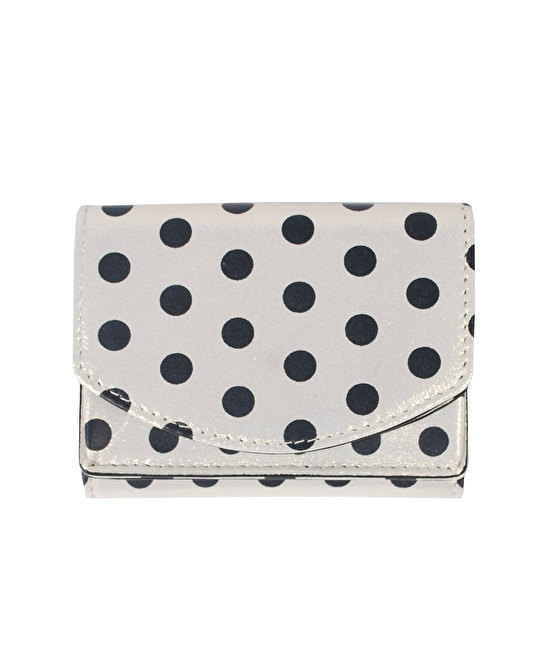 Hashibami Dot Metallic Mini Wallet